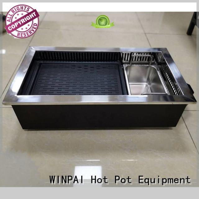 WINPAI high efficiency hot pot cooker manufacture manufacturer for villa