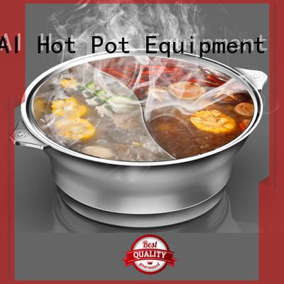 WINPAI smokeless hot pot table supplier Suppliers for villa