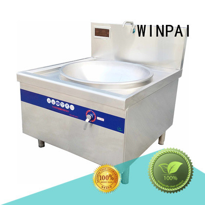 WINPAI smokeless induction hob and pans company for indoor