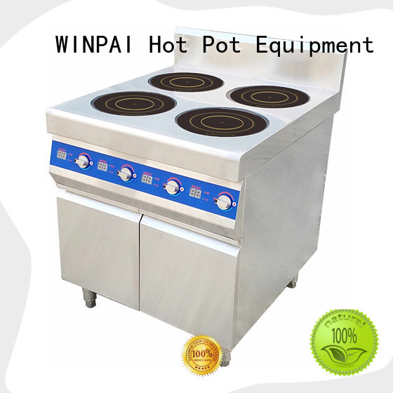 WINPAI double hot pot cooker supplier for restaurant