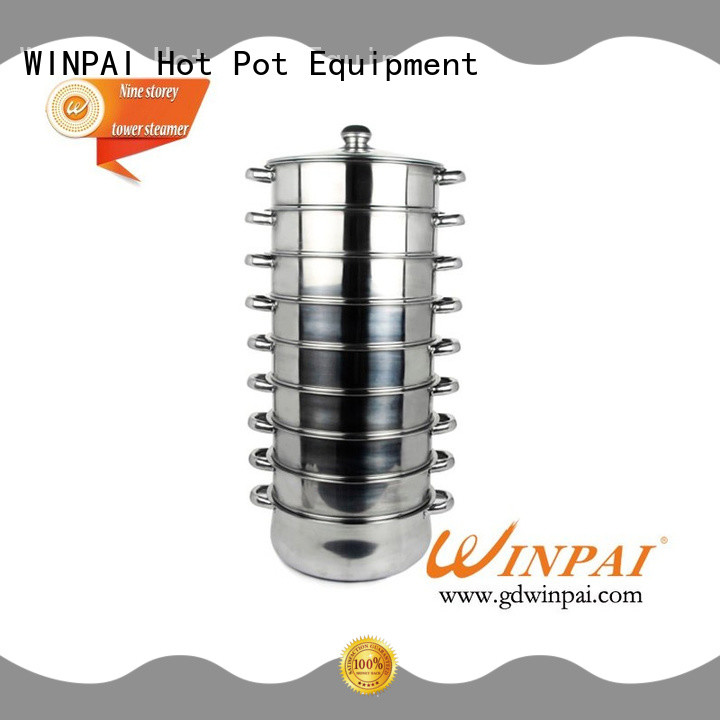 WINPAI Top cooking steamer basket company for home
