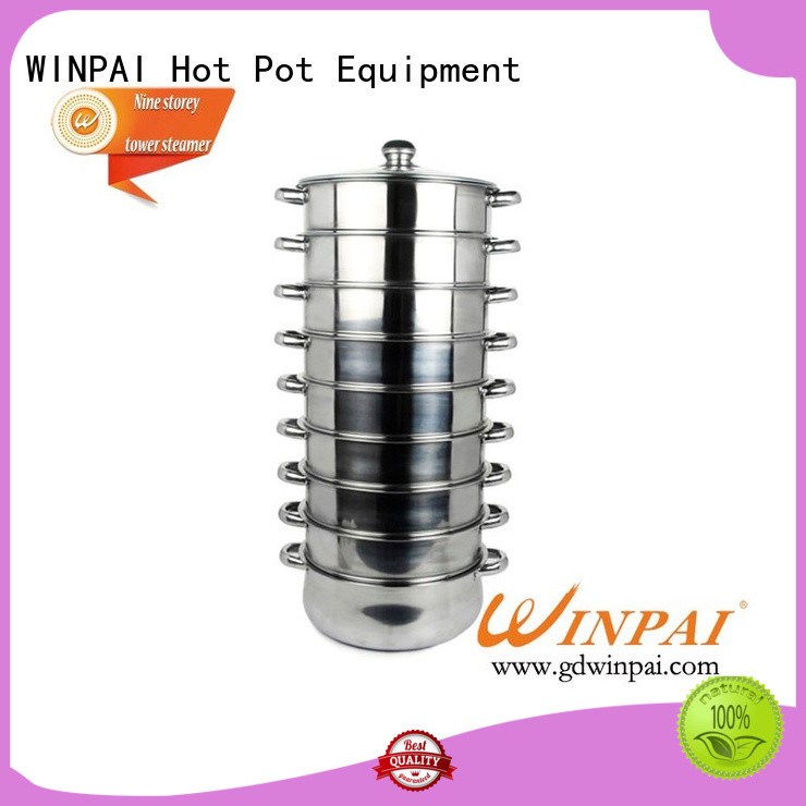WINPAI New tier food steamer Supply for indoor