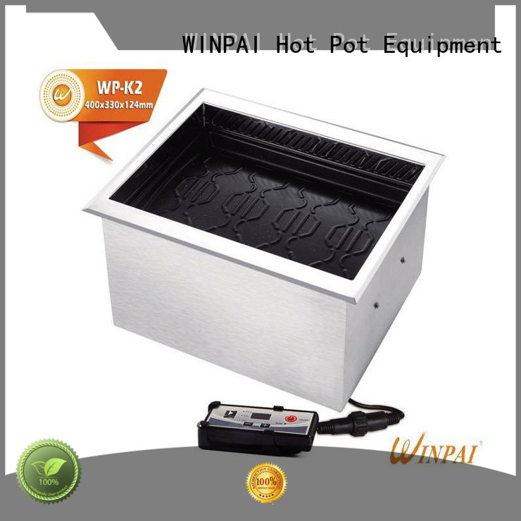 High-quality Smokeless BBQ Grill cnwinpai Suppliers for indoor