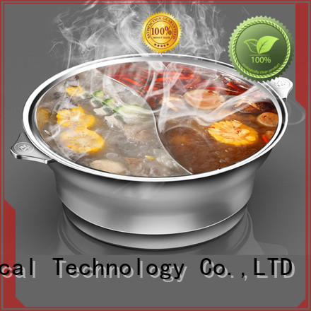 WINPAI electric hot pot table supplier factory for cafe