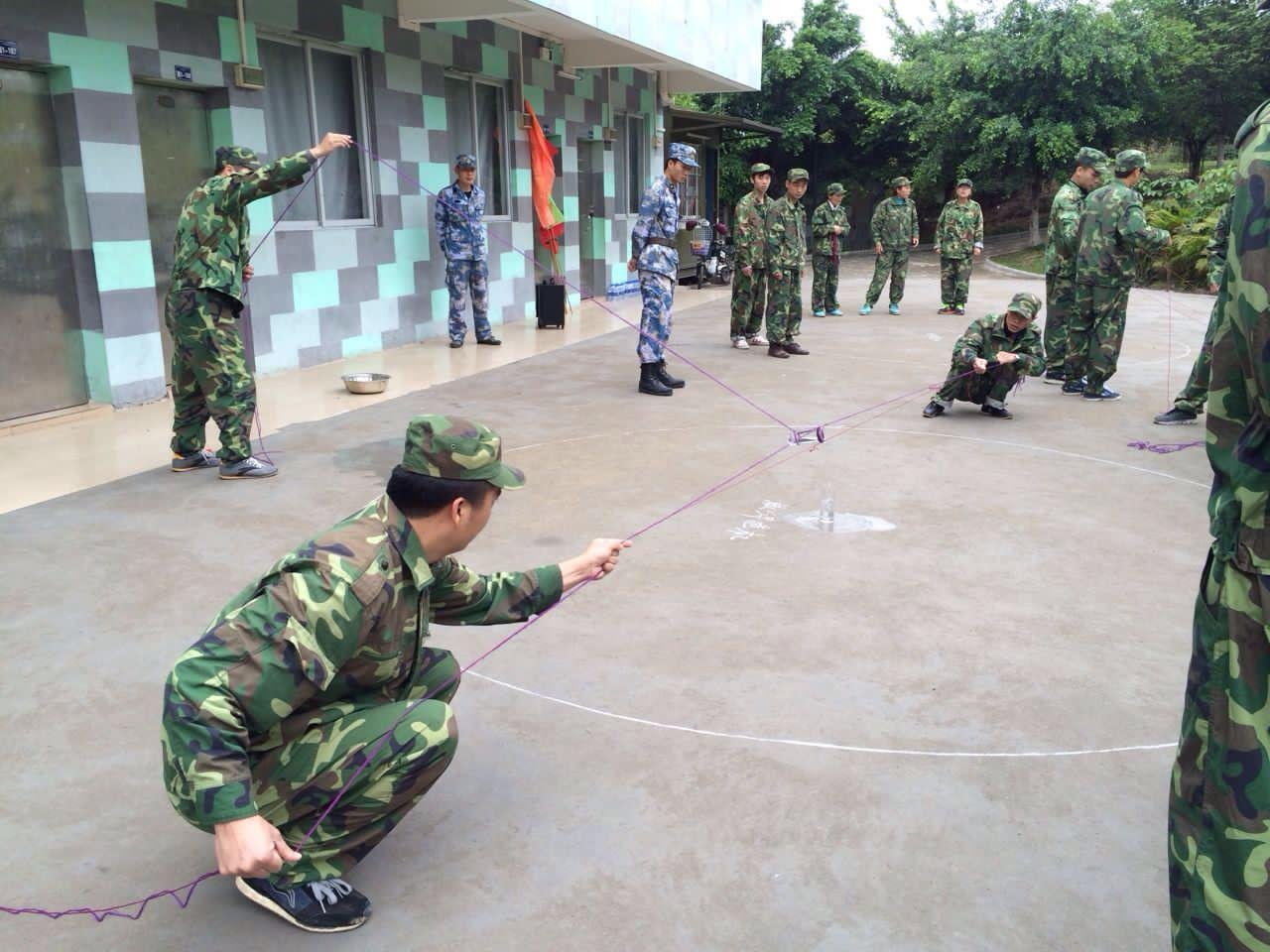 news-WINPAI-Ying Jia Baili, Ying Ying to join the Whampoa Military Academy of military training-img