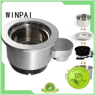 autolift copper stock pot wholesale for indoor WINPAI