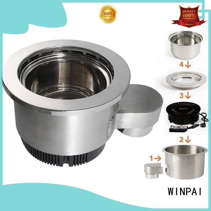 WINPAI single hot pot cooker series for indoor