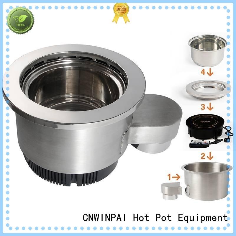 copper stock pot color store hot pot cookware CNWINPAI Brand
