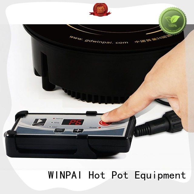 WINPAI round copper hot pot wholesale for indoor