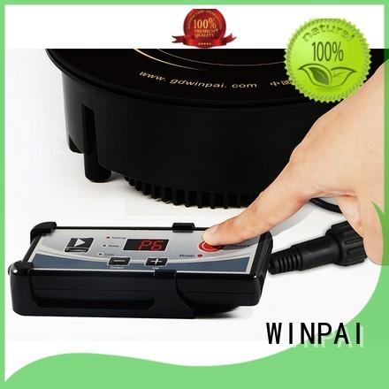 WINPAI smokeless induction electric burner manufacturer for restaurant