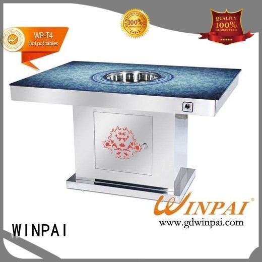 WINPAI professional shabu shabu pot wholesale for cafe