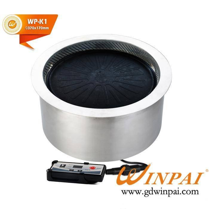 WINPAI Single Electric Smokeless BBQ Grill For Hot Pot Restaurant