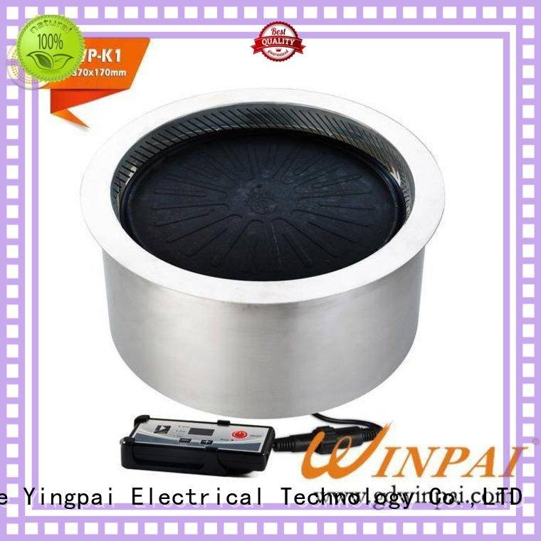 WINPAI barbecue Smokeless Hot Pot cooker manufacturer for restaurant