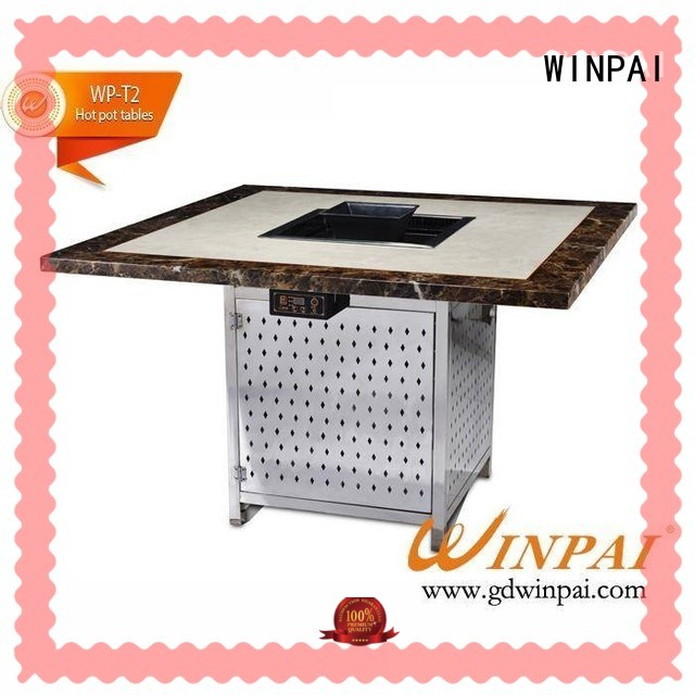 WINPAI cast hot pot asian cuisine manufacturers for restaurant