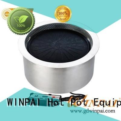 WINPAI high efficiency bar bq grills smokers factory for home