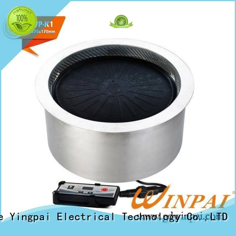 color hot sale electric bbq grill CNWINPAI Brand
