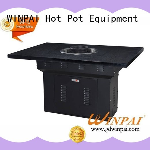 WINPAI grills hotpot chinese fondue manufacturers for cafe