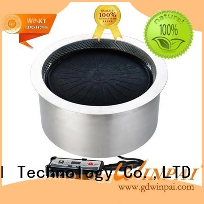 WINPAI round bbq grill clearance sale for business for restaurant