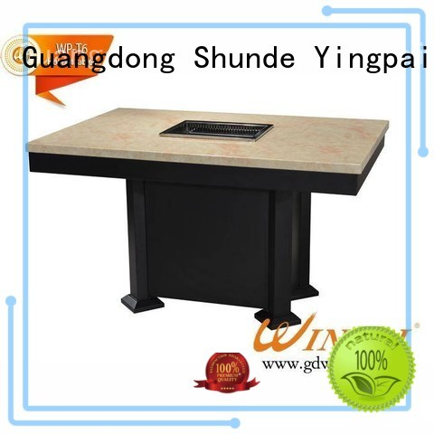WINPAI base barbecue table plans manufacturers for cafe