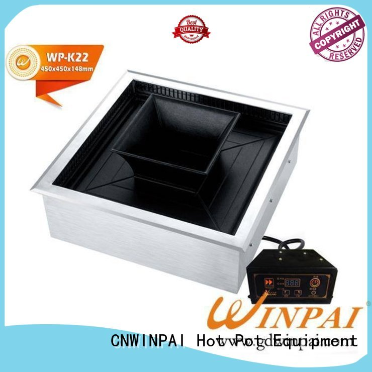 steam electric bbq grill microcomputer shop CNWINPAI company