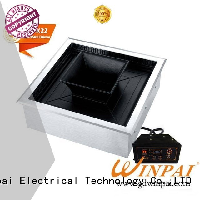 Hot Pot And BBQ Grill desigh electric bbq grill CNWINPAI Brand