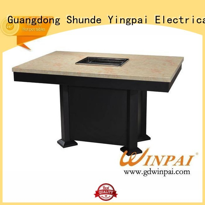 WINPAI high quality korean bbq grill table series for cafe