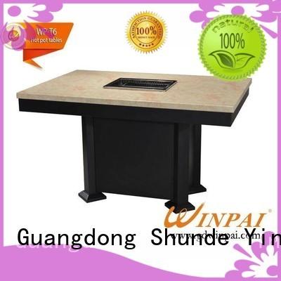 Hot korean bbq grill table coverwinpai CNWINPAI Brand