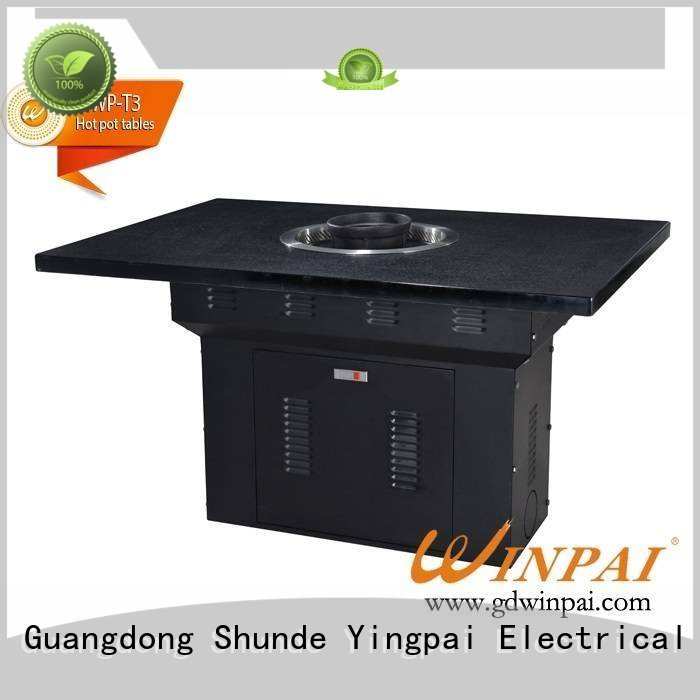 WINPAI solid stainless steel pot supplier for star hotel