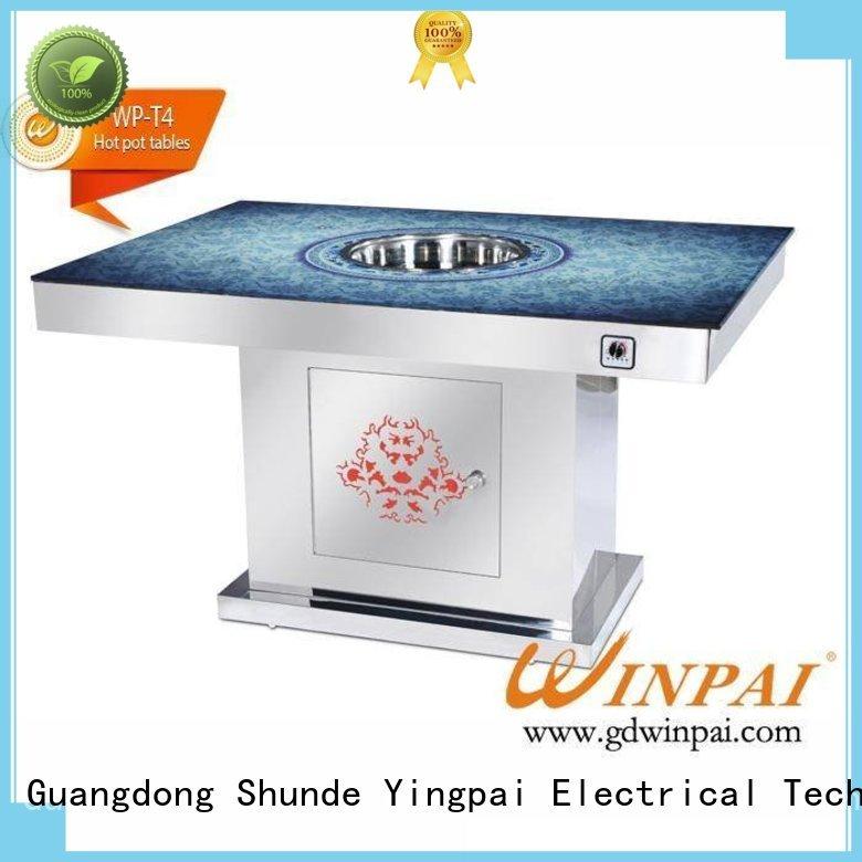 restaurantbuffet 3500 1300w~2800w CNWINPAI Brand shabu pot manufacture