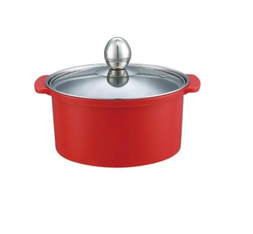 Stainless steel anti - hot pot one person a pot of shabu shabu pan
