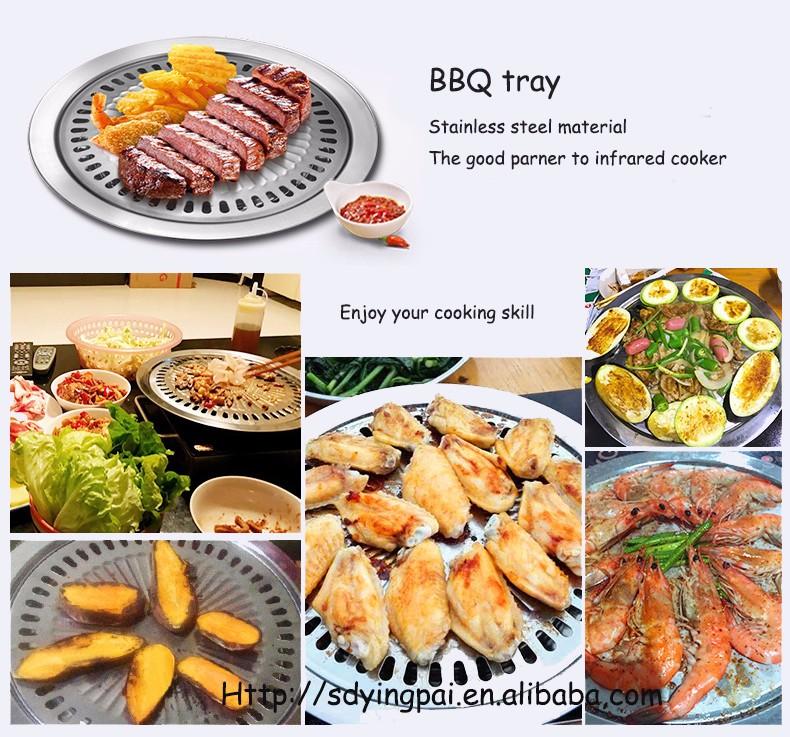 korean bbq exhaust florabest smokeless tabletop korean bbq grill-4