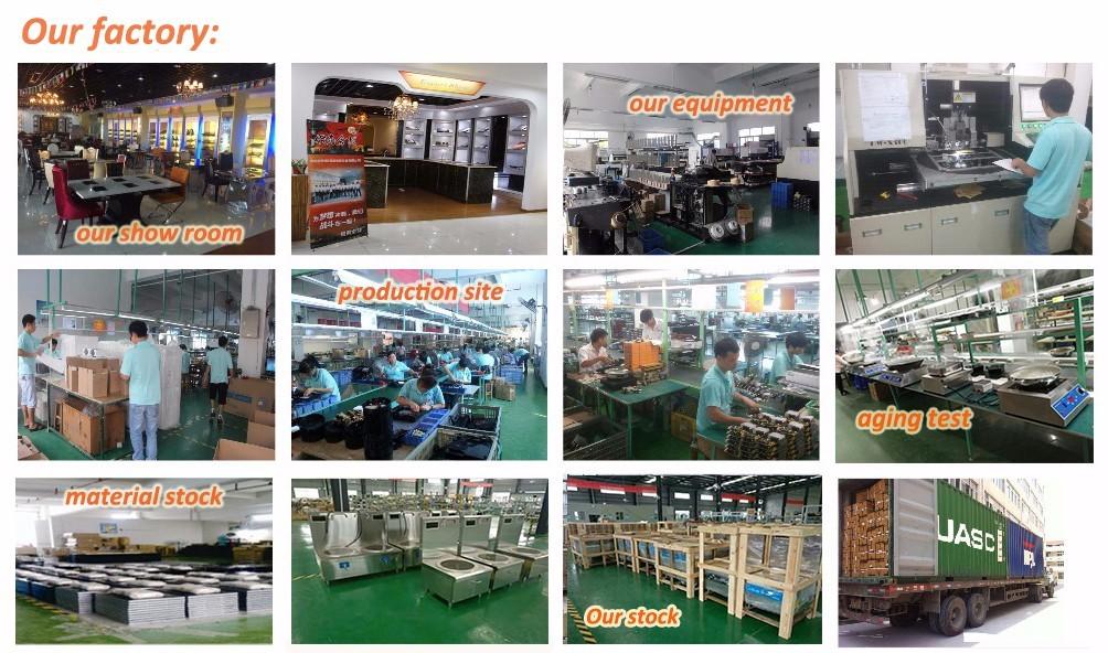 desigh Custom selfservice electric bbq grill restaurantbuffet CNWINPAI