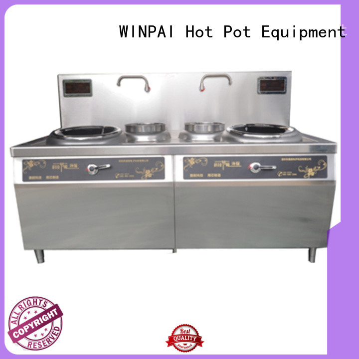 WINPAI singlehead induction stove top oven Supply for restaurant