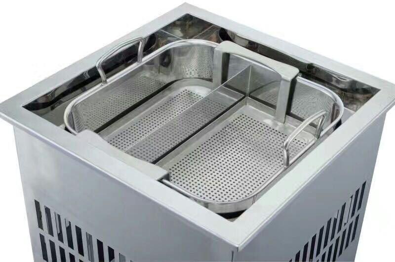 CNWinpai Auto-lift Hot Pot-Smokeless hot pot table