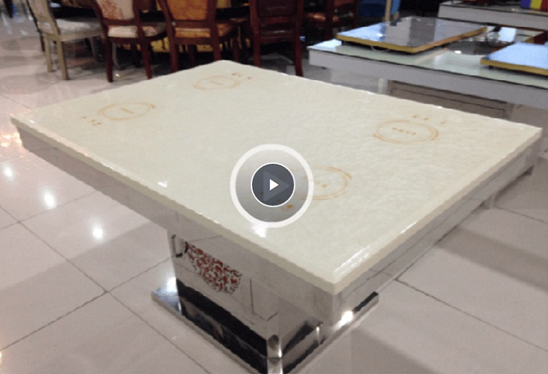 assemble the hot pot cooker under the table top-WINPAI