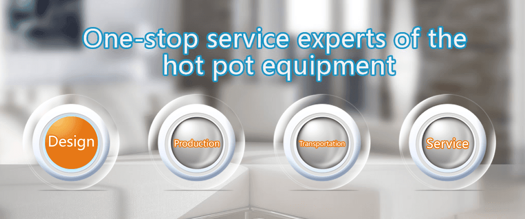 professional hot pot cooker chinese series for villa