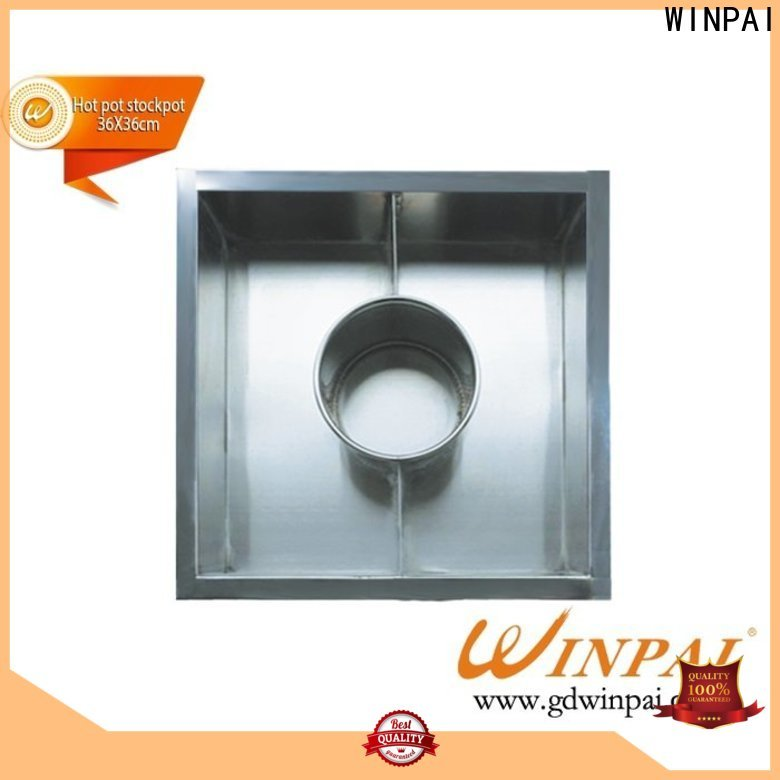 WINPAI plate Wholesale Hot Pot Table for business for indoor