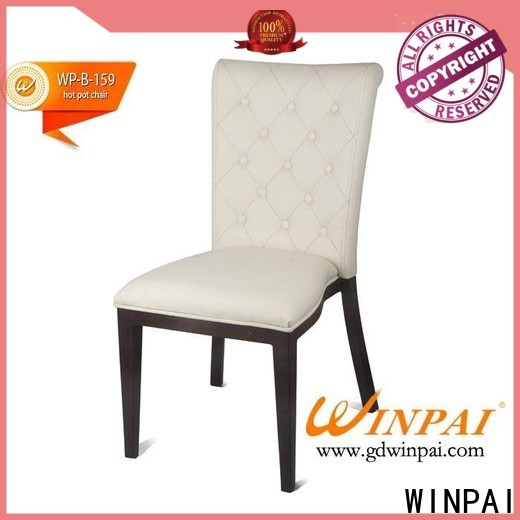 WINPAI professional french metal dining chairs factory for indoor