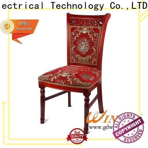 WINPAI upscale short wooden chair company for dinning room