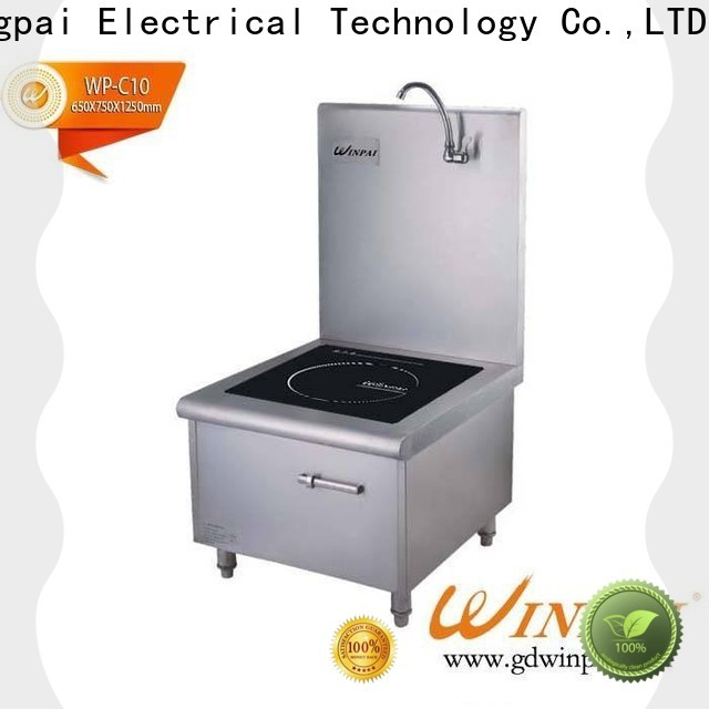 WINPAI touch induction burner price manufacturer for restaurant