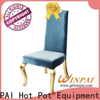 WINPAI banquet painted wooden chairs for dining factory for living room