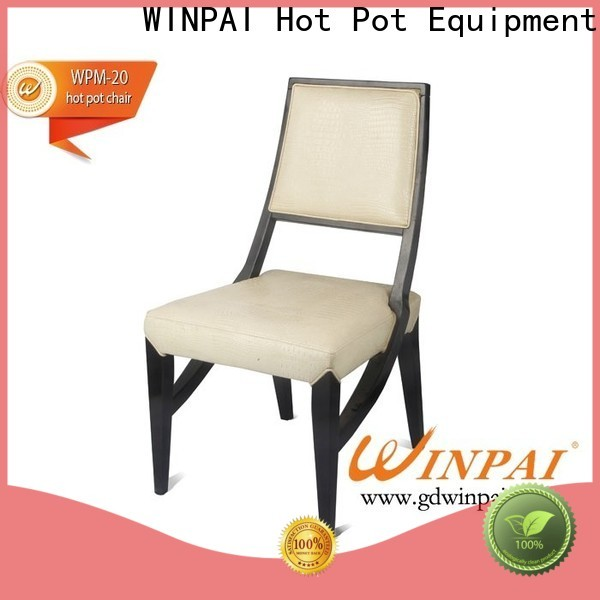 WINPAI High-quality short wooden chair company for indoor