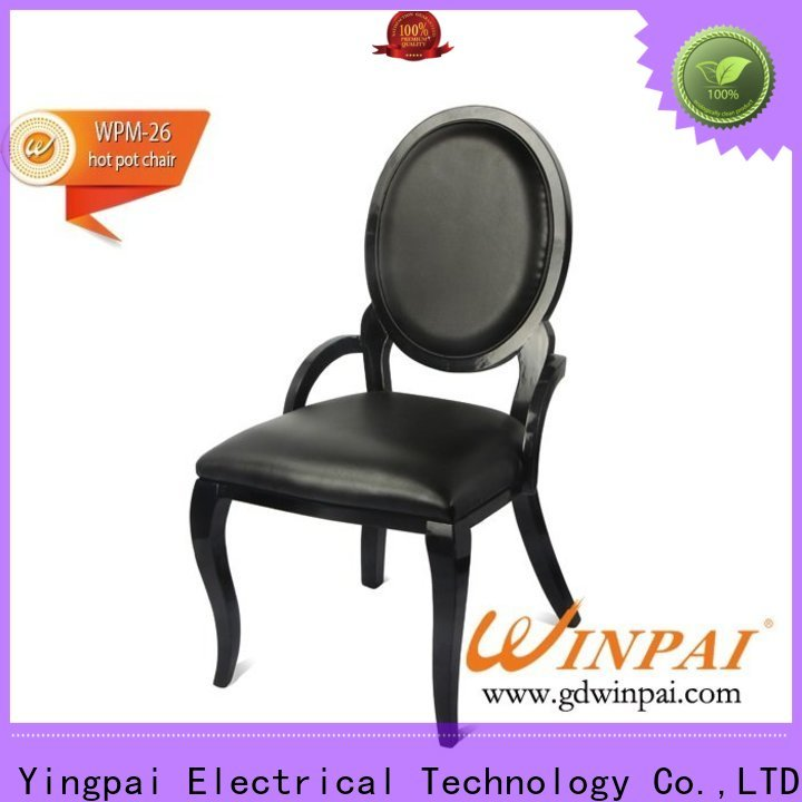 WINPAI Custom solid hardwood dining chairs supplier for restaurant