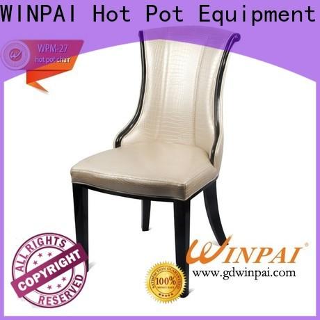 WINPAI Top wooden chair set designs Suppliers for restaurant