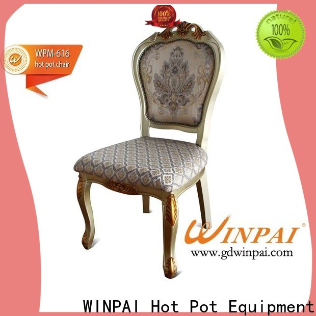 WINPAI Best wood seat chair Supply for indoor