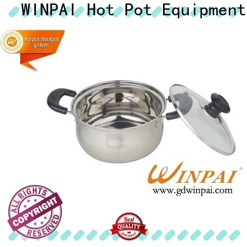 WINPAI Latest best shabu shabu pot manufacturers for restaurant
