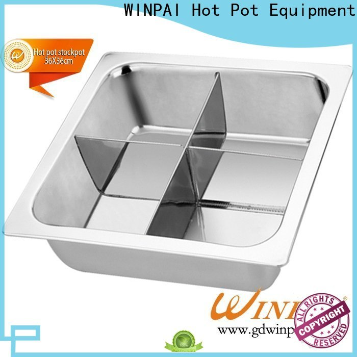 WINPAI safety asian hot pots for sale for indoor