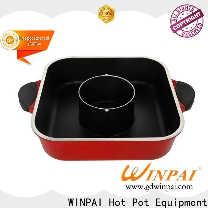 WINPAI High-quality steak hot pot recipe Supply for indoor