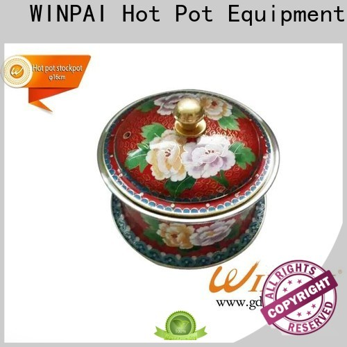 WINPAI soup Wooden Hot Pot Table for indoor