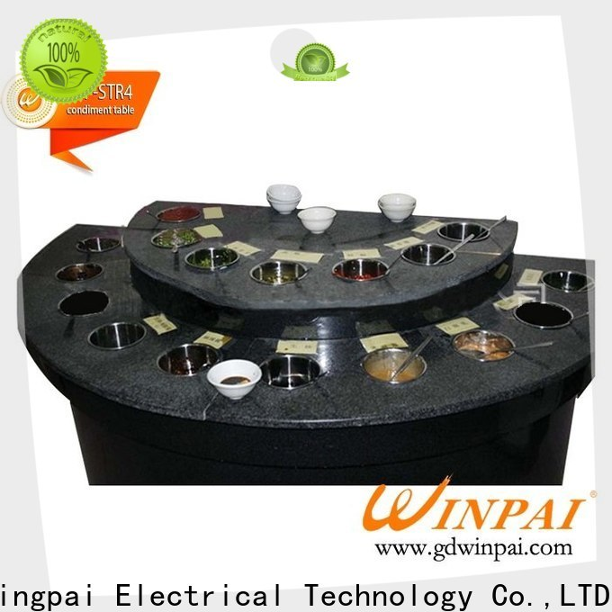 WINPAI by restaurant organizer manufacturer for leisure places